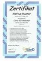 Ihr Zertifikat